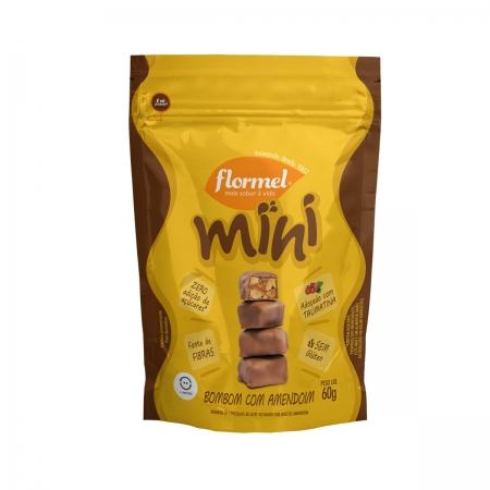 Mini Bombom com Amendoim Zero 60g - Flormel