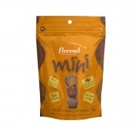 Mini Bombom Crocante com Caramelo 54g - Flormel