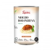 Molho Bolonhesa Vegan 400g - Super Bom