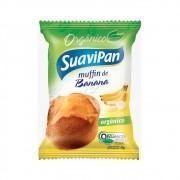 Muffin de Banana Orgânico 40g - Suavipan