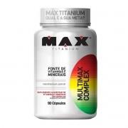 Multimax Complex 90 Capsulas - Max Titanium
