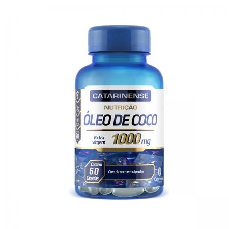 Óleo de Coco 1000mg 60 Cápsulas - Catarinense
