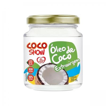 Óleo de Coco Extra Virgem 200ml - Coco Show