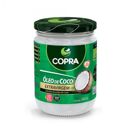 Óleo de Coco Extra Virgem 500ml - Copra