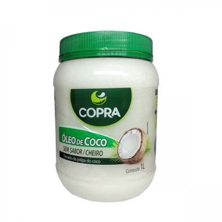 Óleo de Coco Sem Sabor 1L - Copra