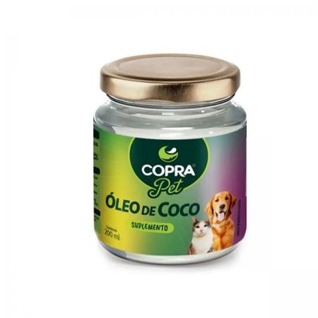 Óleo de Coco sem sabor para Pet 200ml - Copra