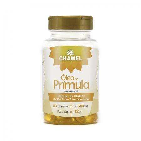 Óleo de Prímula 500mg 60 Cápsulas - Chamel