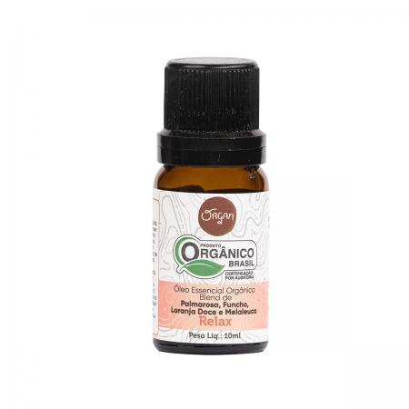 Óleo Essencial Orgânico Relax 10ml - Organ