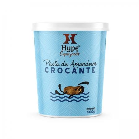 Pasta de Amendoim Crocante 500g - Hype