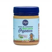 Pasta de Amendoim Crocante Orgânico  200g - Organ