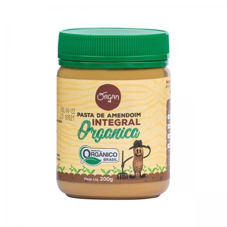 Pasta de Amendoim Integral Orgânica 200g - Organ