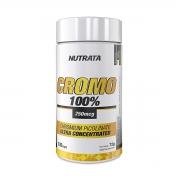 Picolinato de Cromo 600mg 120 cápsulas - Nutrata