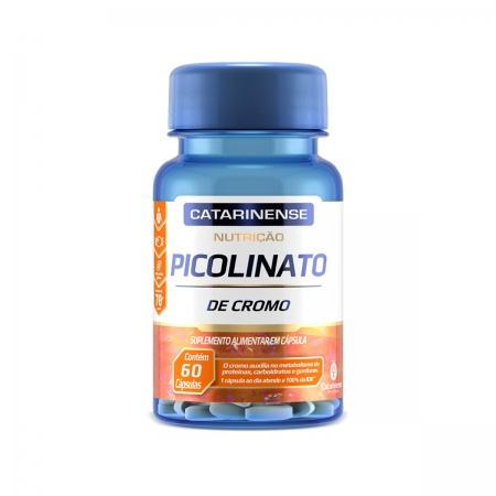 Picolinato de Cromo 60 Cápsulas - Catarinense