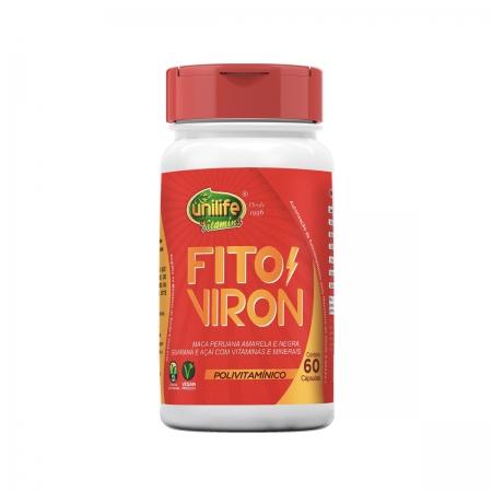 Polivitamínico Fito Viron 600mg 60 Cápsulas - Unilife