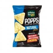 Popps Chips de Pipoca  com Sal 35g - Roots To Go