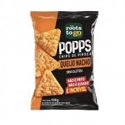Popps Chips de Pipoca Sabor Queijo Nacho 100g - Roots To Go