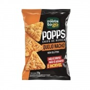 Popps Chips de Pipoca Sabor Queijo Nacho 35g - Roots To Go