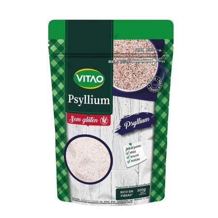 Psyllium Sem Glúten 100g - Vitao