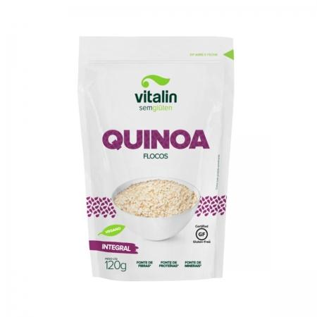 Quinoa em flocos 120g - Vitalin