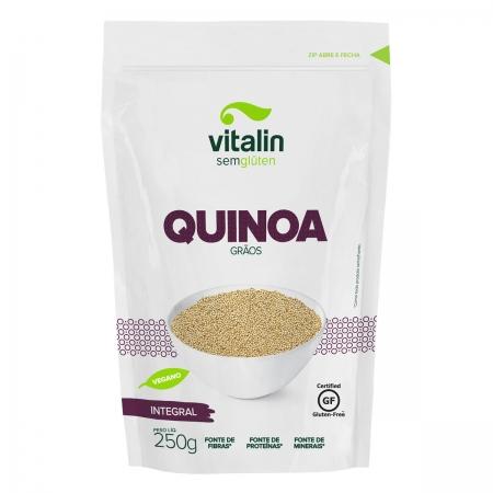 Quinoa em Grãos Integral 250g - Vitalin