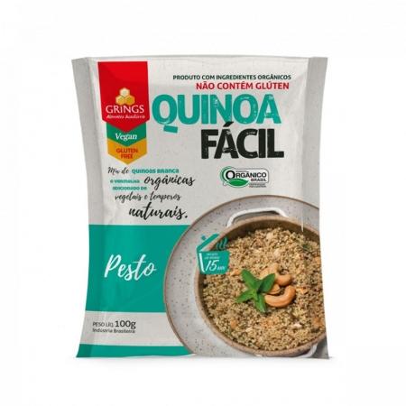 Quinoa Fácil sabor Pesto Orgânica 100g - Grings