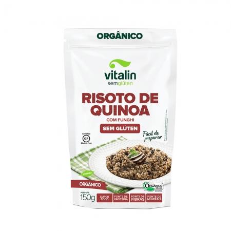 Risoto de Quinoa com Funghi 150g - Vitalin