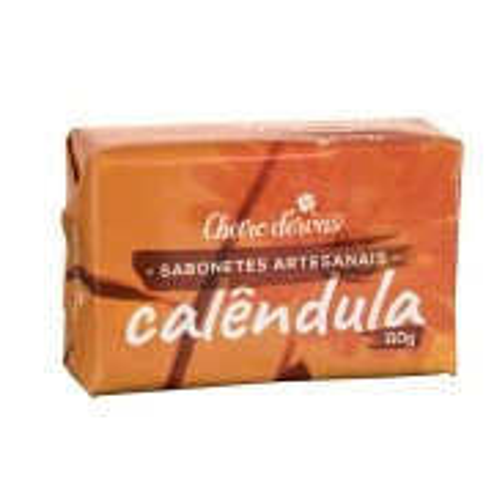 Sabonete Artesanal de Calêndula 110g - Cheiro D'ervas