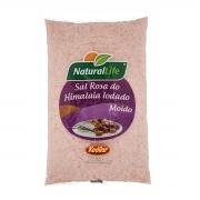 Sal Rosa do Himalaia Moido 500g  - NaturalLife