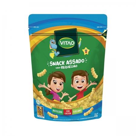 Snack Integral Sabor Requeijão Kids 40g - Vitao