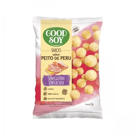 Snack Sem Glúten Sabor Peito de Peru 25g - Good Soy