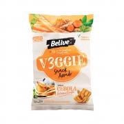 Snack Sem Glúten Veggie Sabor Cebola Caramelizada 35g - Belive