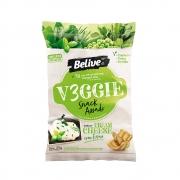 Snack Sem Glúten Veggie Sabor Cream Cheese com Ervas 35g - Belive