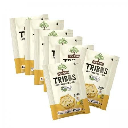 Snack Tribos Orgânico Azeite e Ervas com 7 unidades de 25g - Mãe Terra