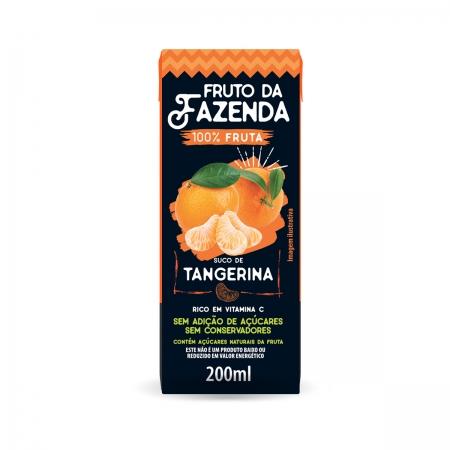 Suco de Tangerina Zero 100% fruta 200ml - Super Bom