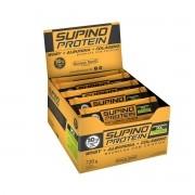 Supino Protein sabor Baunilha com Crispies display com 12 barras de 30g - Banana Brasil