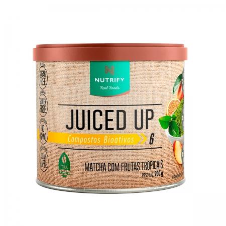 Suplemento Alimentar Juiced UP sabor Frutas Tropicais 200g - Nutrify