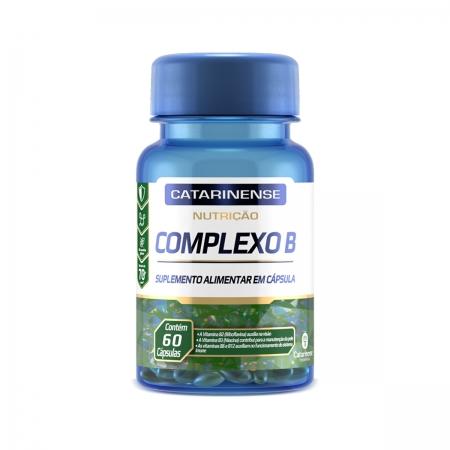Suplemento Complexo B 60 cápsulas- Catarinense