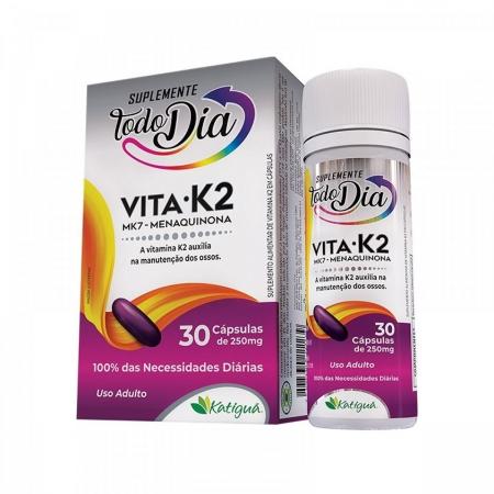 Suplemento Vitamina K2 250mg 30 cápsulas - Katiguá