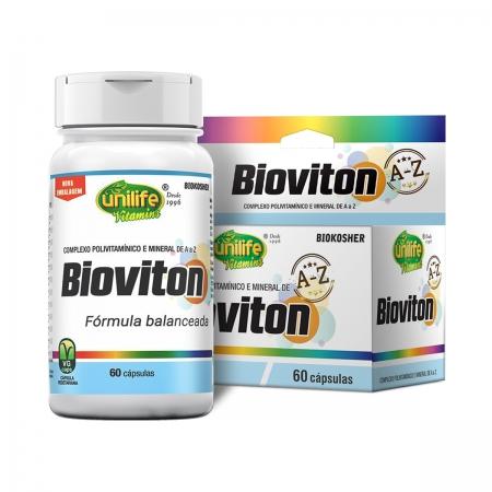 Suplemento Vitamínico Bioviton 560mg 60 Cápsulas - Unilife