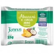 Tablete de Abacaxi e Coco Zero 25g - Phinus