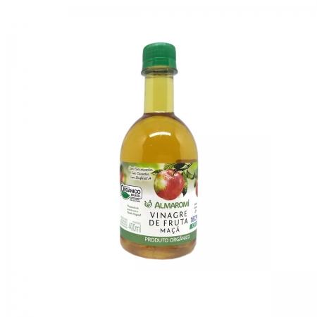 Vinagre de Fruta de Maçã Orgânico 400ml - Almaromi
