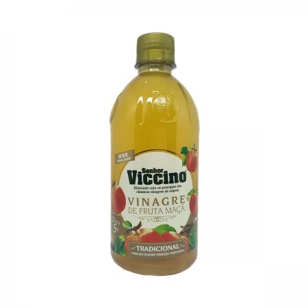 Vinagre de Fruta de Maçã Tradicional 500ml - Senhor Viccino