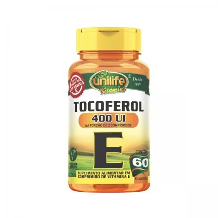 Vitamina E 1000mg 60 Comprimidos - Unilife