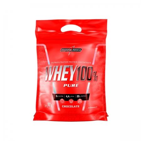 Whey 100% Pure sabor Chocolate 907g - Integralmedica