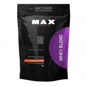 Whey Blend Sabor Vitamina de Frutas 2kg - Max Titanium