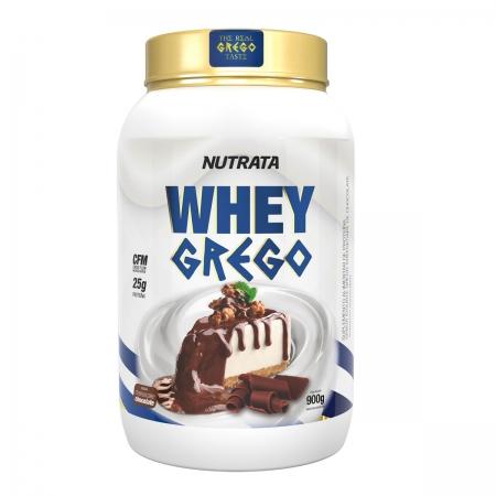 Whey Grego sabor Cheesecake de Chocolate 900g - Nutrata