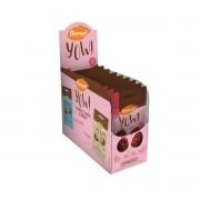 Yow de Cranberry com Chocolate Display com 8 un. de 40g - Flormel