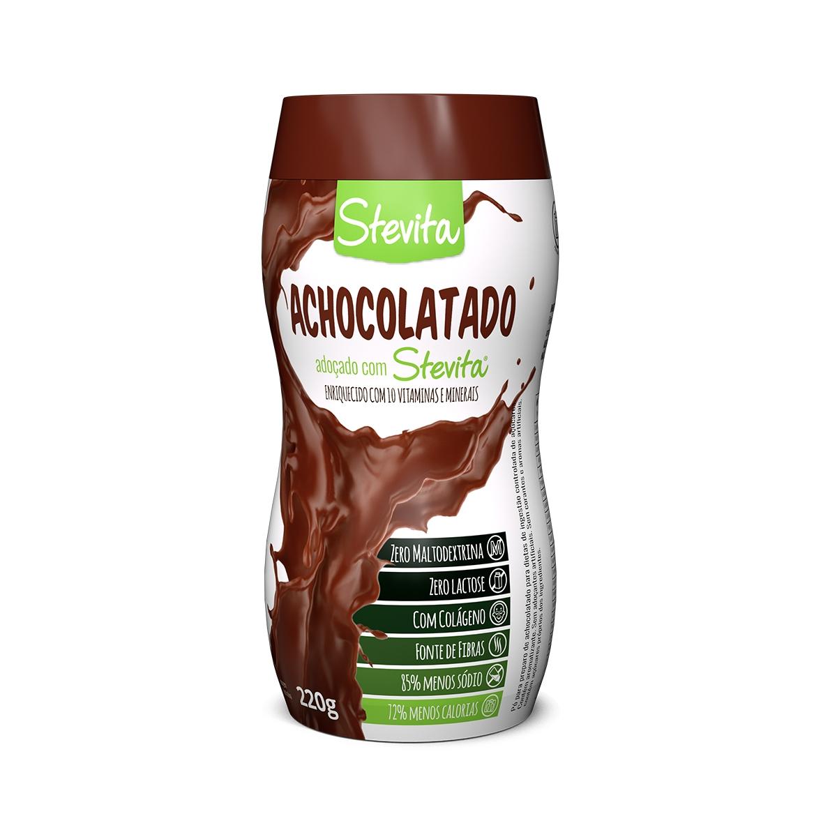Achocolatado Diet 220g - Stevita