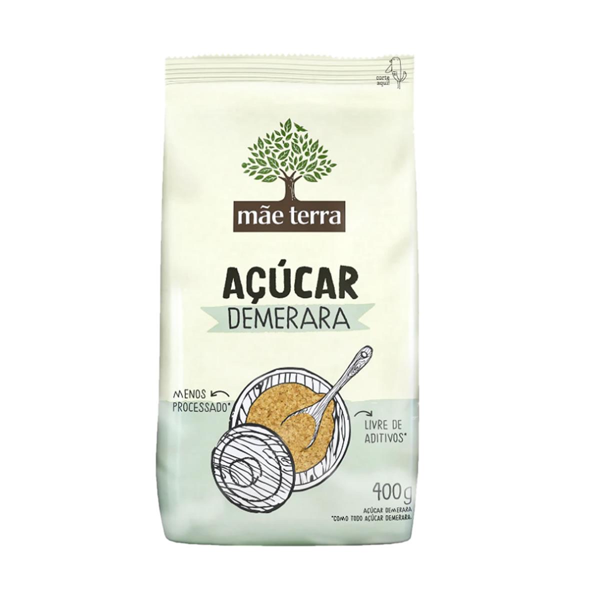 Açúcar Demerara 400g - Mãe Terra