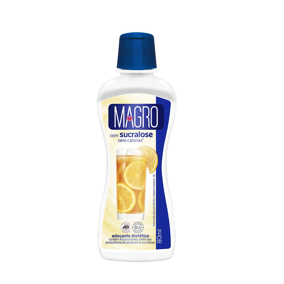 Adoçante com Sucralose Liquido 80ml - Magro